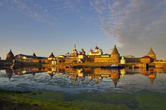 View of monastery. Russia. Stock Image