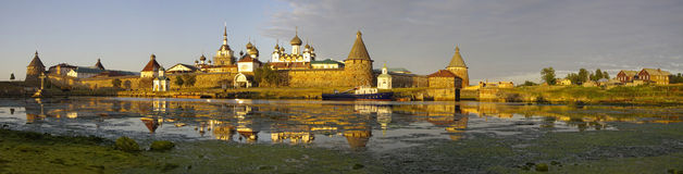 View of monastery. Russia. Stock Photography