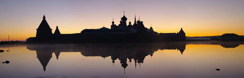 View of monastery. Russia. Royalty Free Stock Image