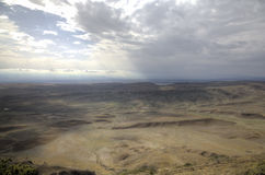 View from Monastery Udabno. Sagarejo municipality, the Gareji ridge. Stock Images