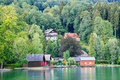 View of mondsee lake Royalty Free Stock Photo