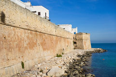 View of Monopoli. Puglia. Italy. Royalty Free Stock Images