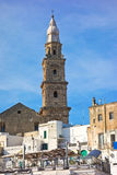 View of Monopoli. Puglia. Italy. Stock Photography