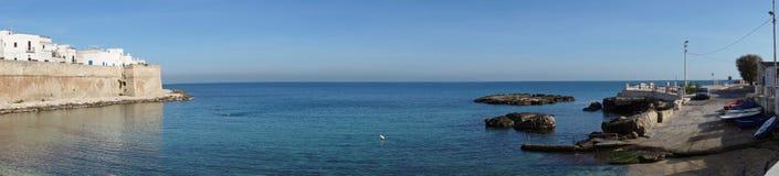 View of Monopoli. Puglia. Italy. Royalty Free Stock Photos