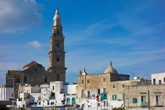 View of Monopoli. Puglia. Italy. Stock Photos
