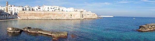 View of Monopoli. Puglia. Italy. Stock Image