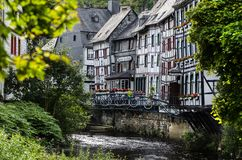 View of Monschau, Germany