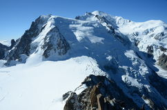 View of Mont Blanc Royalty Free Stock Photo