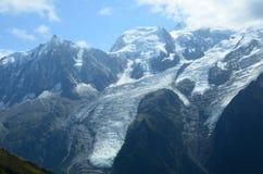 View of Mont Blanc Stock Photos