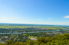 View of Mont Saint Hilaire stock images