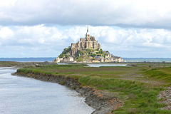View on Mont Saint-Michel. France Royalty Free Stock Images