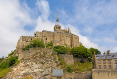 View of Mont saint Michel Stock Photography