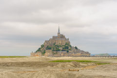 View of Mont saint Michel Royalty Free Stock Images