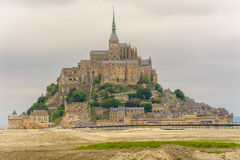 View of Mont saint Michel Royalty Free Stock Photos