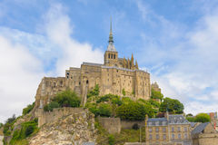 View of Mont saint Michel Royalty Free Stock Photography