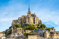 View at Mont Saint-Michele Royalty Free Stock Photography