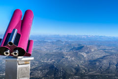 View from the Mont Ventoux area, Alps Stock Images