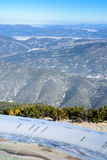 View from the Mont Ventoux area, Alps Stock Image