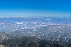 View from the Mont Ventoux area, Royalty Free Stock Image
