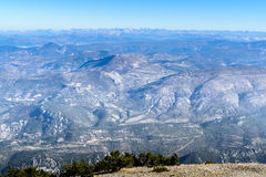 View from the Mont Ventoux area, Stock Photos