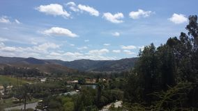 The view of the montains of califorina Royalty Free Stock Photos