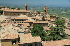 View of Montalcino, Tuscany, Italy Royalty Free Stock Photo
