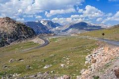 View of Montana Mountains USA Stock Photos
