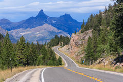 View of Montana Mountains USA Royalty Free Stock Photo