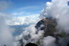 View from Monte Baldo stock images