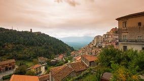View from Montensono sulla Mercella, Campania, Italy Stock Photo
