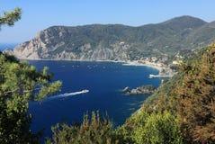View of Monterosso al Mare, Cinque Terre. Morning in Monterosso al Mare, Cinque Terre, Italy Royalty Free Stock Photo