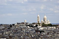 View on Montmartre. France Royalty Free Stock Photos