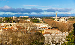 View of Montpellier - France Royalty Free Stock Photos