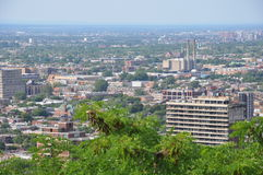 View of Montreal Royalty Free Stock Photos