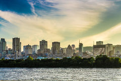 The view of Montreal City Stock Images