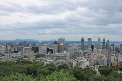 Cityscapes Montreal Stock Images