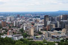 Cityscapes Montreal Stock Image