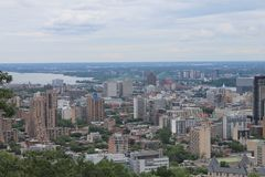 Cityscapes Montreal Stock Photo