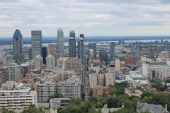 Cityscapes Montreal Royalty Free Stock Image