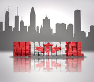 View of Montreal Stock Photos