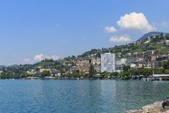 View on Montreux Royalty Free Stock Photos