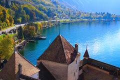 View on Montreux Stock Photography