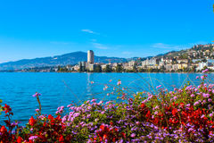 View on Montreux Royalty Free Stock Images