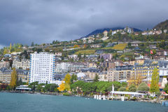 View of Montreux, Switzerland Royalty Free Stock Images