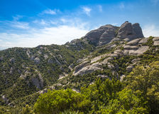 View from Montserrat, Catalonia, Spain. Stock Images