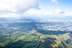 The view from Montserrat mountain Royalty Free Stock Images