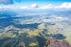 The view from Montserrat mountain Stock Images