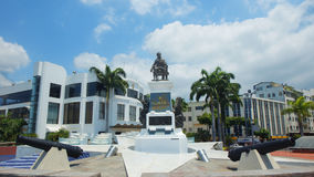 View of monument to Jose Joaquin de Olmedo. Guayaquil, Guayas / Ecuador - September 4 2016: View of monument to Jose Joaquin de Olmedo located on the Malecon Royalty Free Stock Photos