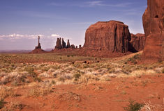 View of Monument Valley Royalty Free Stock Photography