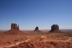 View of Monument Valley Stock Image